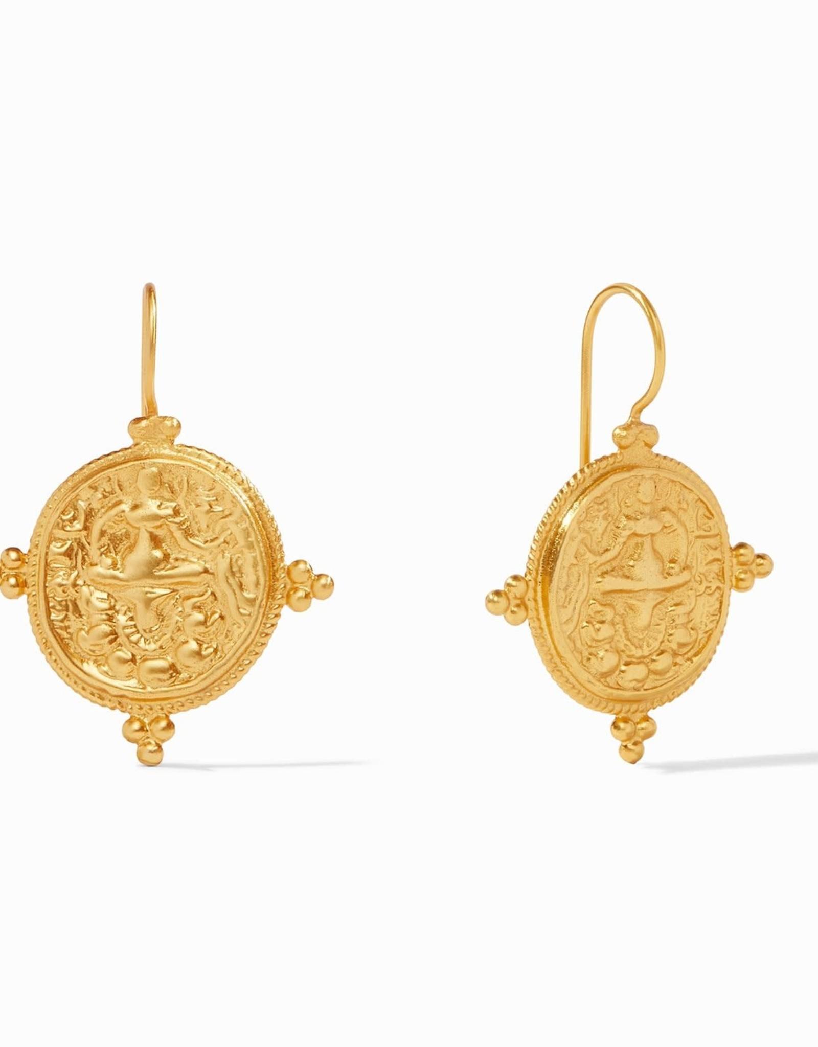Julie Vos Quatro Coin Earring