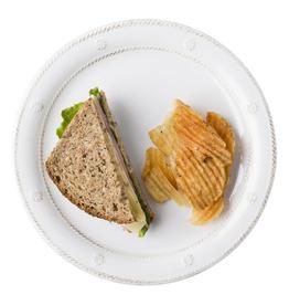 Juliska Melamine Whitewash Dessert/Salad Plate