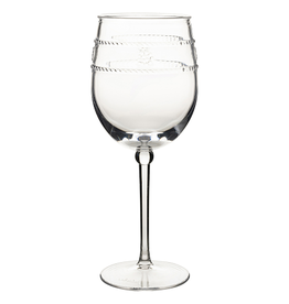 Juliska Isabella Clear Acrylic Wine Glass