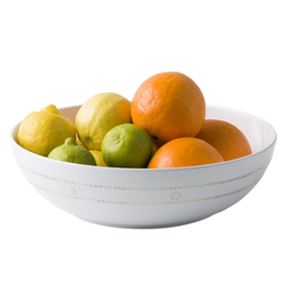 Juliska Berry & Thread Whitewash Melamine Medium Bowl
