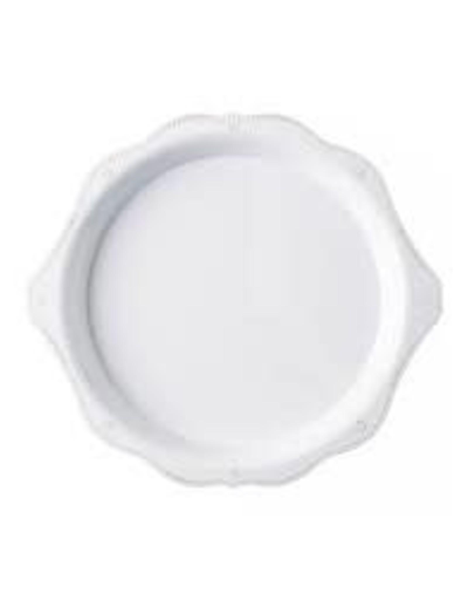 """Juliska Berry & Thread Whitewash Melamine 17"""" Handled Platter"""