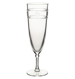 Juliska Isabella Clear Acrylic Champagne Flute