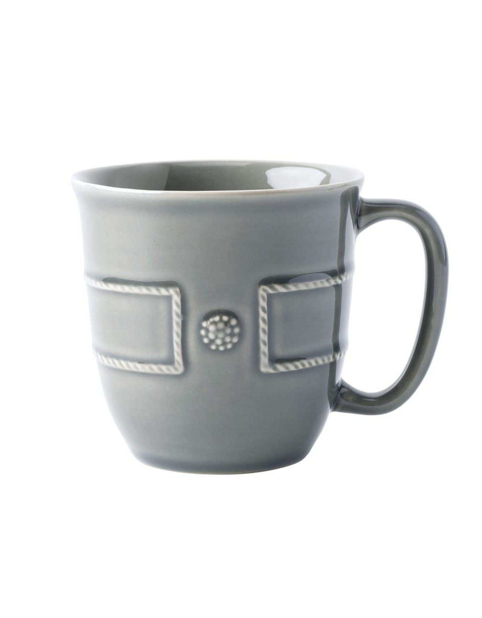 Home Berry & Thread French Panel Stone Grey Coffee Cup