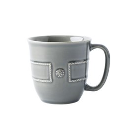 Home Berry & Thread French Panel Stone Grey Coffe Cup
