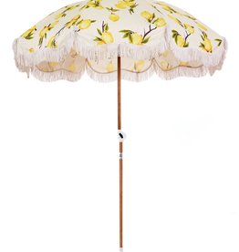 Home Holiday Beach Umbrella - Vintage Lemons