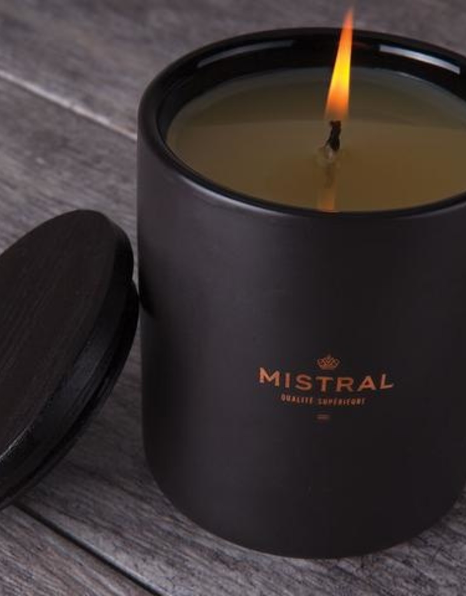 Mistral, LLC Men's Bourbon Vanilla Candle