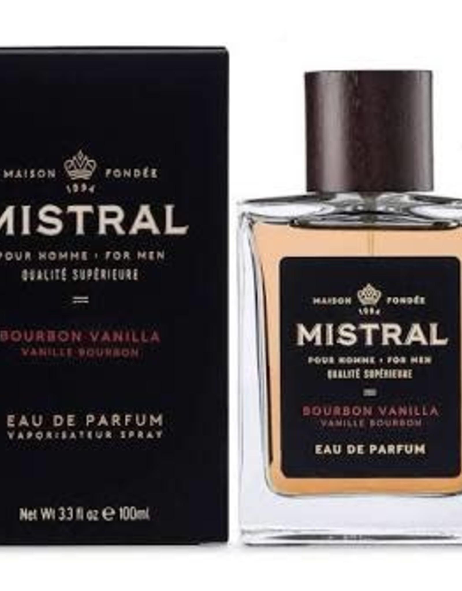 Mistral, LLC Bourbon Vanilla Men's Cologne