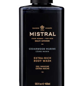 Mistral, LLC Cedarwood Marine Men's Body Wash