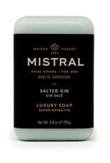 Mistral, LLC Men's Salted Gin Bar Soap