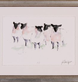 Shadow Catchers Watercolor Sheep I, 13x10