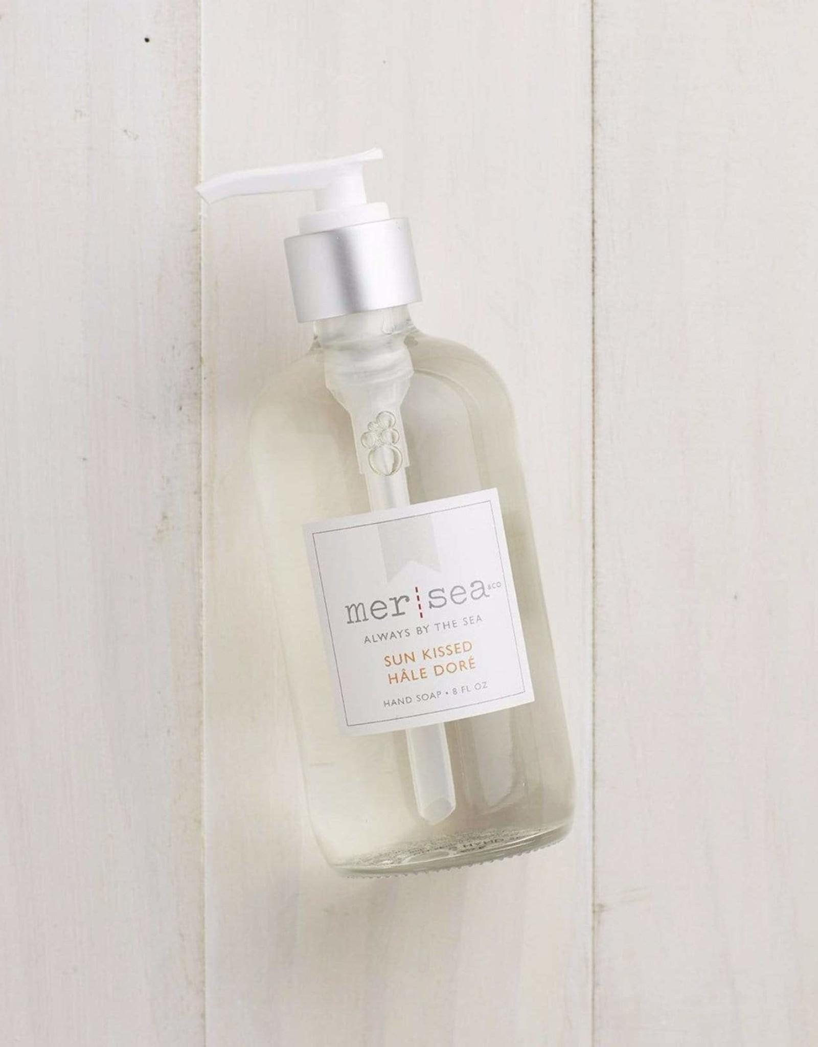 Mer Sea Sun Kissed 8oz Glass Hand Soap