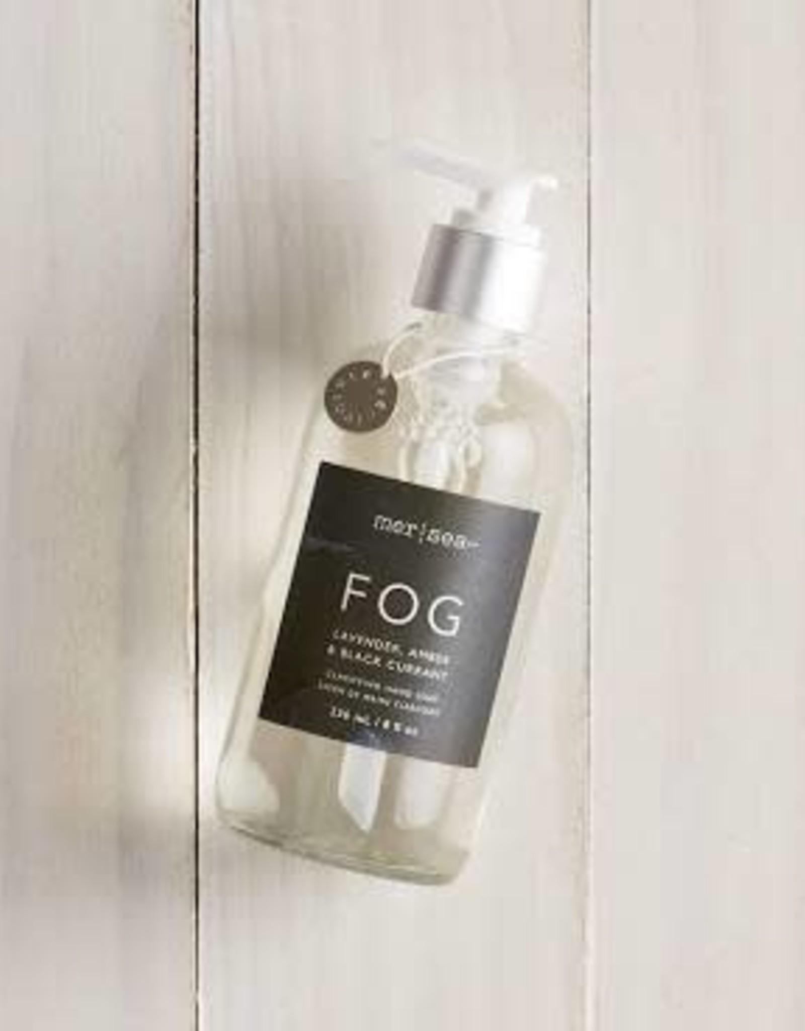 Mer Sea Fog 8oz Glass Hand Soap