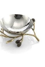 Michael Aram Olive Branch Gold Nut Dish