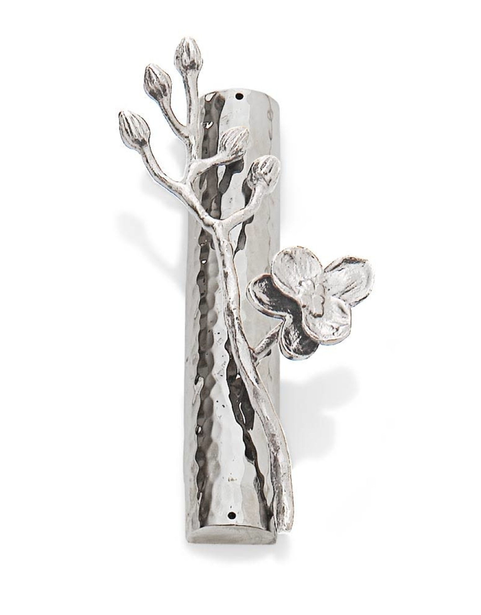 Home White Orchid Mezuzah