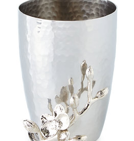 Home White Orchid Toothbrush Holder