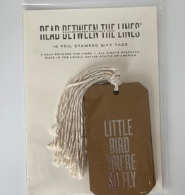Gifts Little Bird You're So Fly Gift Tags