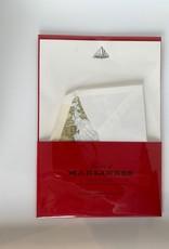 Stationery AOM Letter Writing Set of 10 Sheets/Envelopes - Skipjack