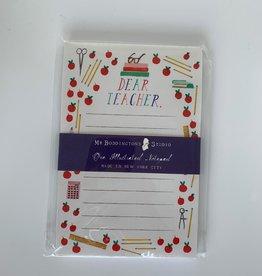 Gifts Dear Teacher Notepad