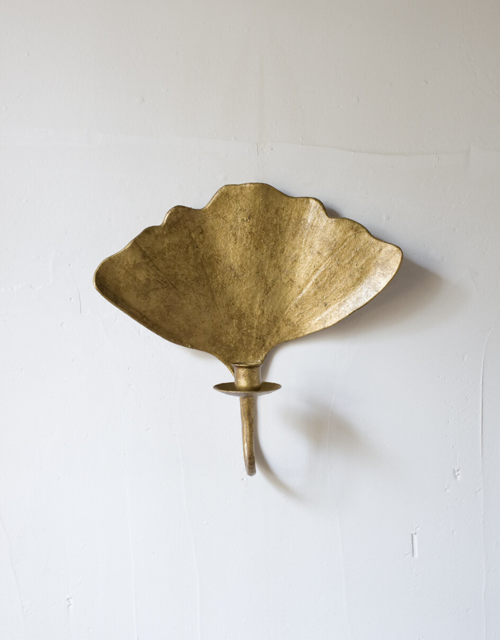 Home Hawes Sconce Tapered Candle Gold