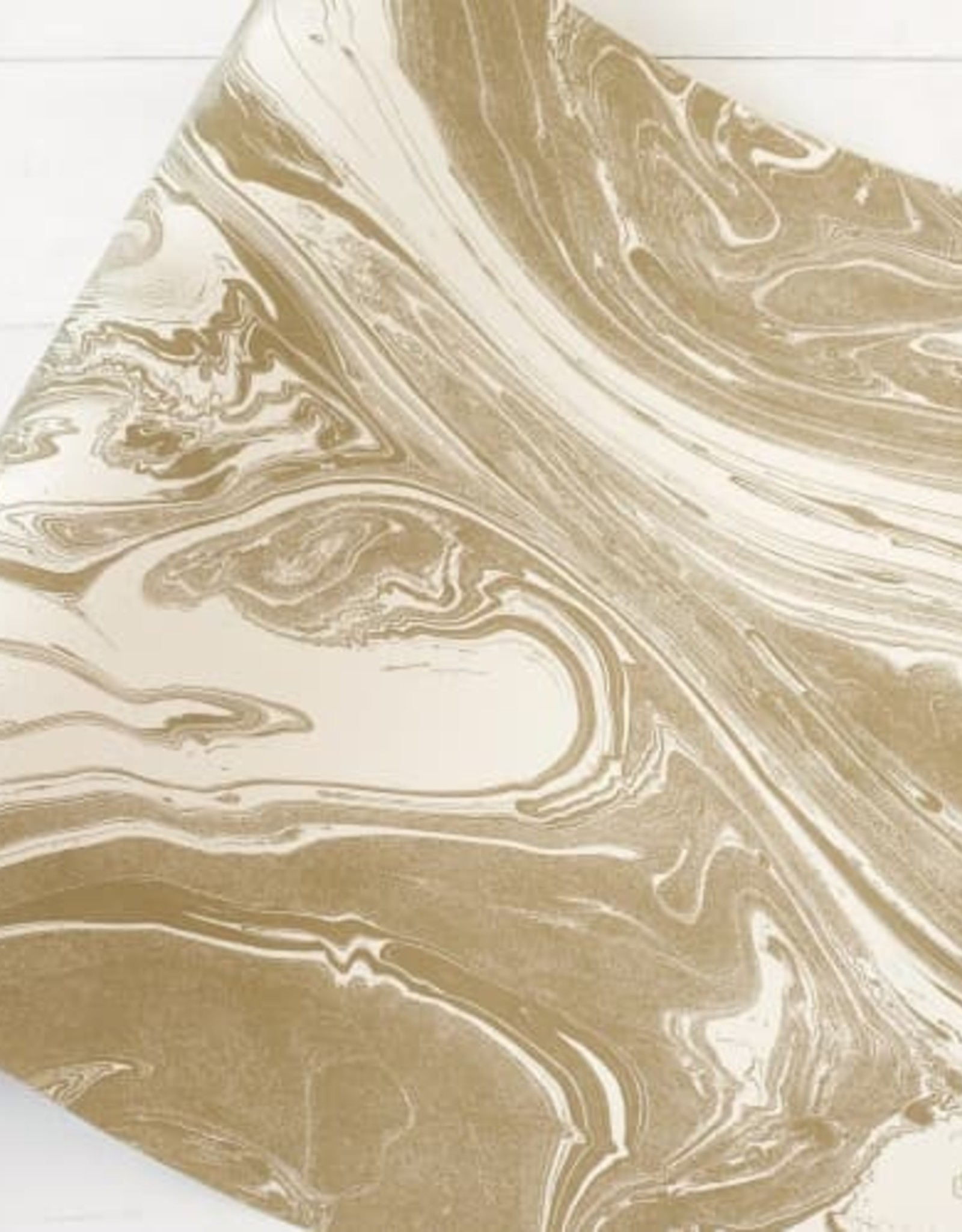 """Home Gold Marbled Runner - 20""""x25"""""""