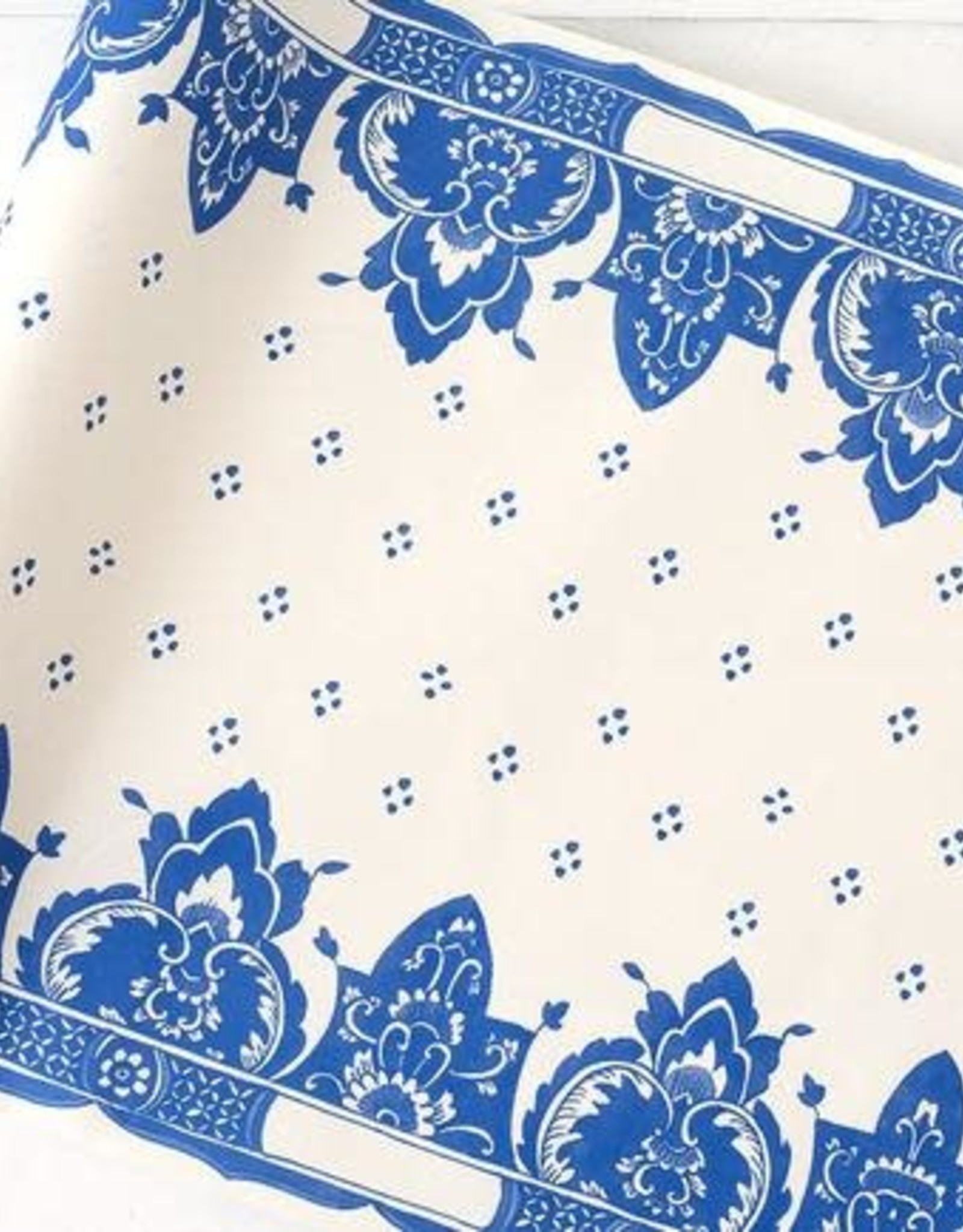 "Home China Blue Table Runner - 20""x25'"