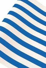 """Home Blue Stripe Runner - 20"""" x 25'"""