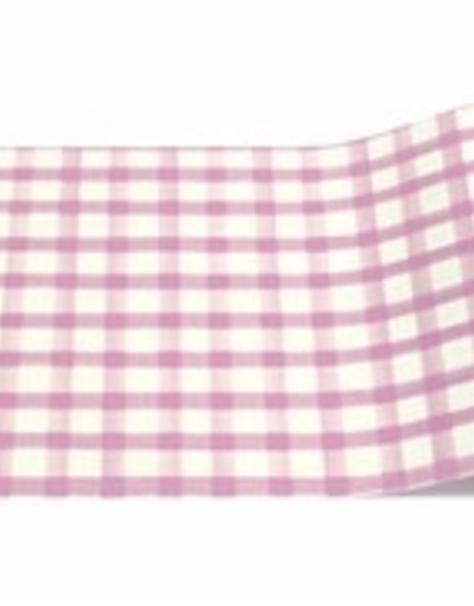 "Home Lilac Panted Check Runner - 20""x20'"