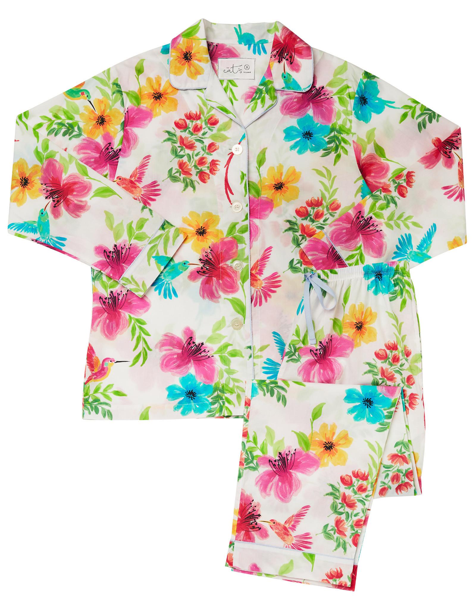 The Cat's Pajamas Tropicana Luxe Pima Pajamas