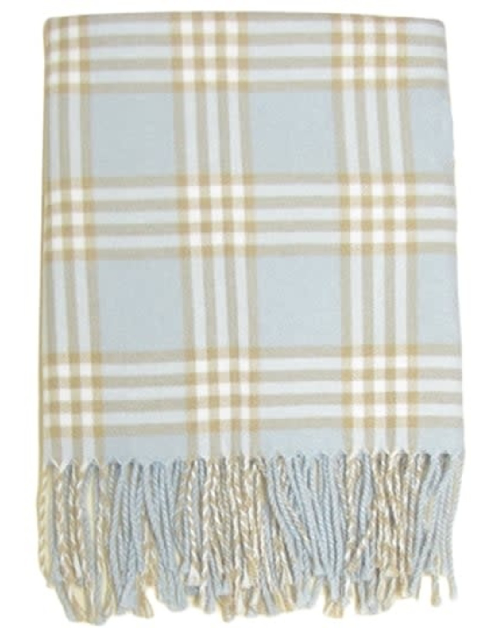 Gifts Plaid Receiving Blanket