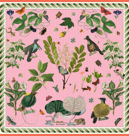 Carson & Co Bird of Paradise Pink Scarf