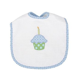 Gifts Monogrammable Celebration Velcro Bib