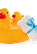 Seda France Duck Gift Set - Bath Towel, Duck Soap and Reusable Duck Soap Holder