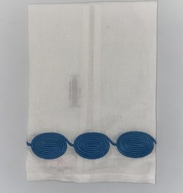Home Coil Tip Towel, China Blue