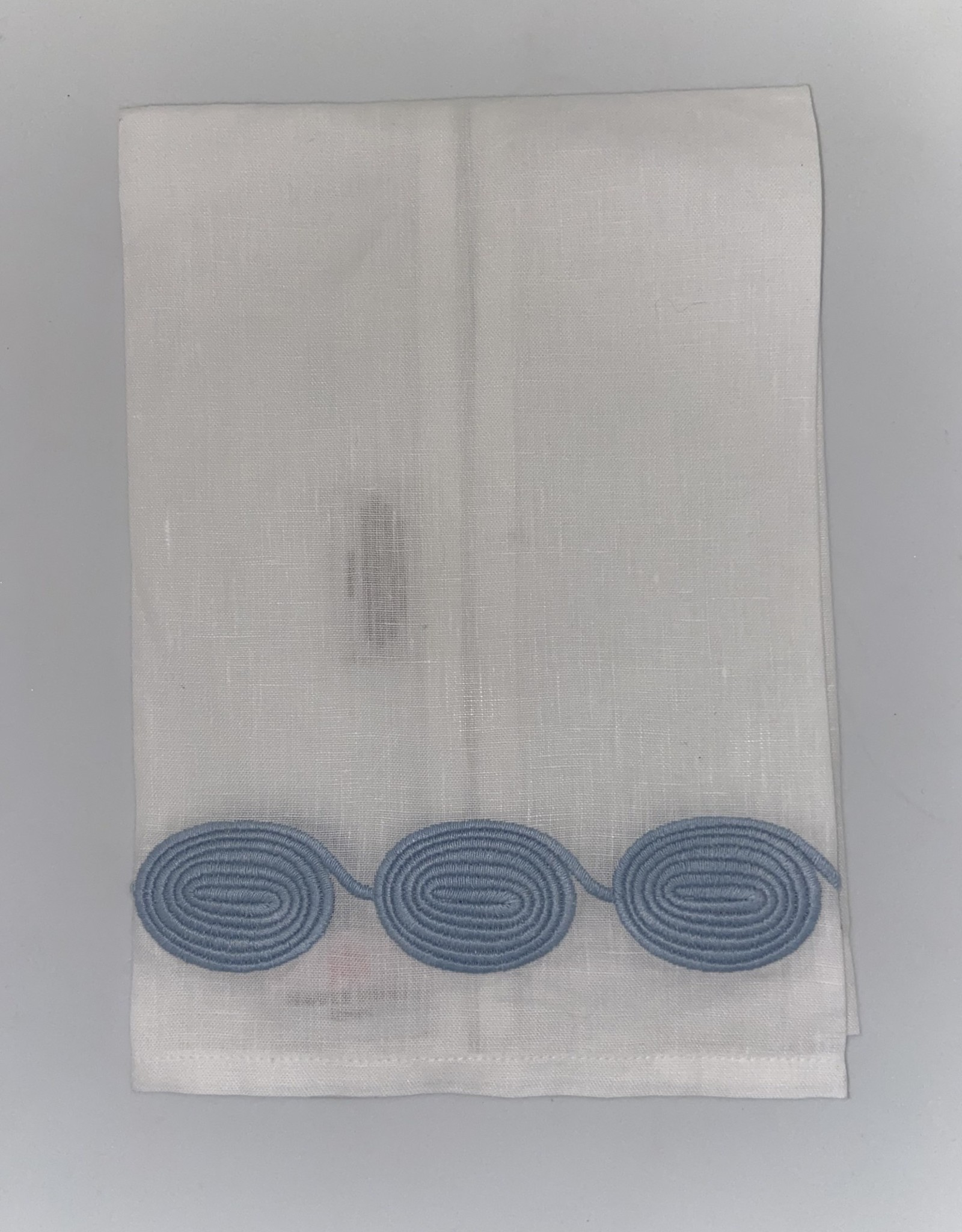 Home Coil Tip Towel, Blue