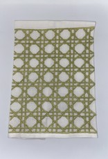 Home Cane Tip Towel, Green