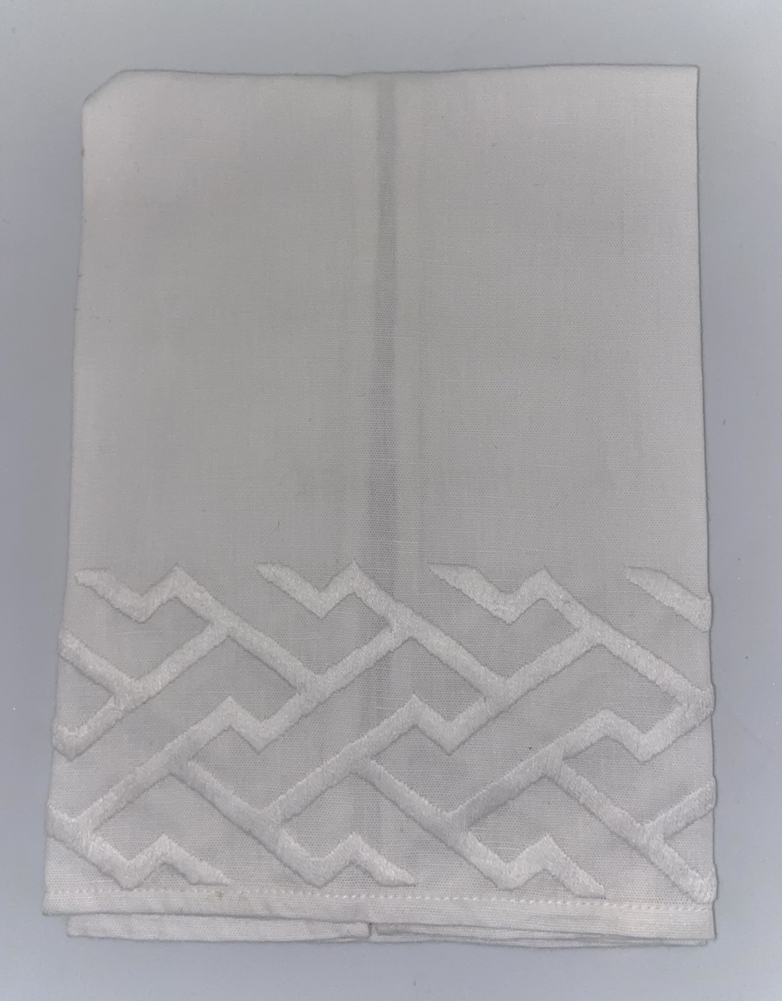 Home Shanghai Tip Towel, White