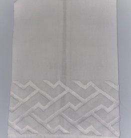 Home Shanghai Tip Towel, White