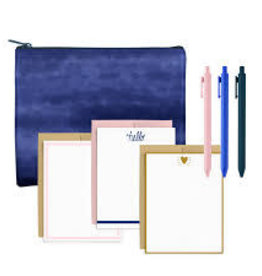 Talking Out of Turn Indigo Dreams Stationery Kit