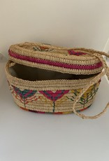 Gifts Esmerelda Basket Crossbody in Natural