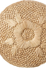Gifts Luna Circle Clutch in Natural