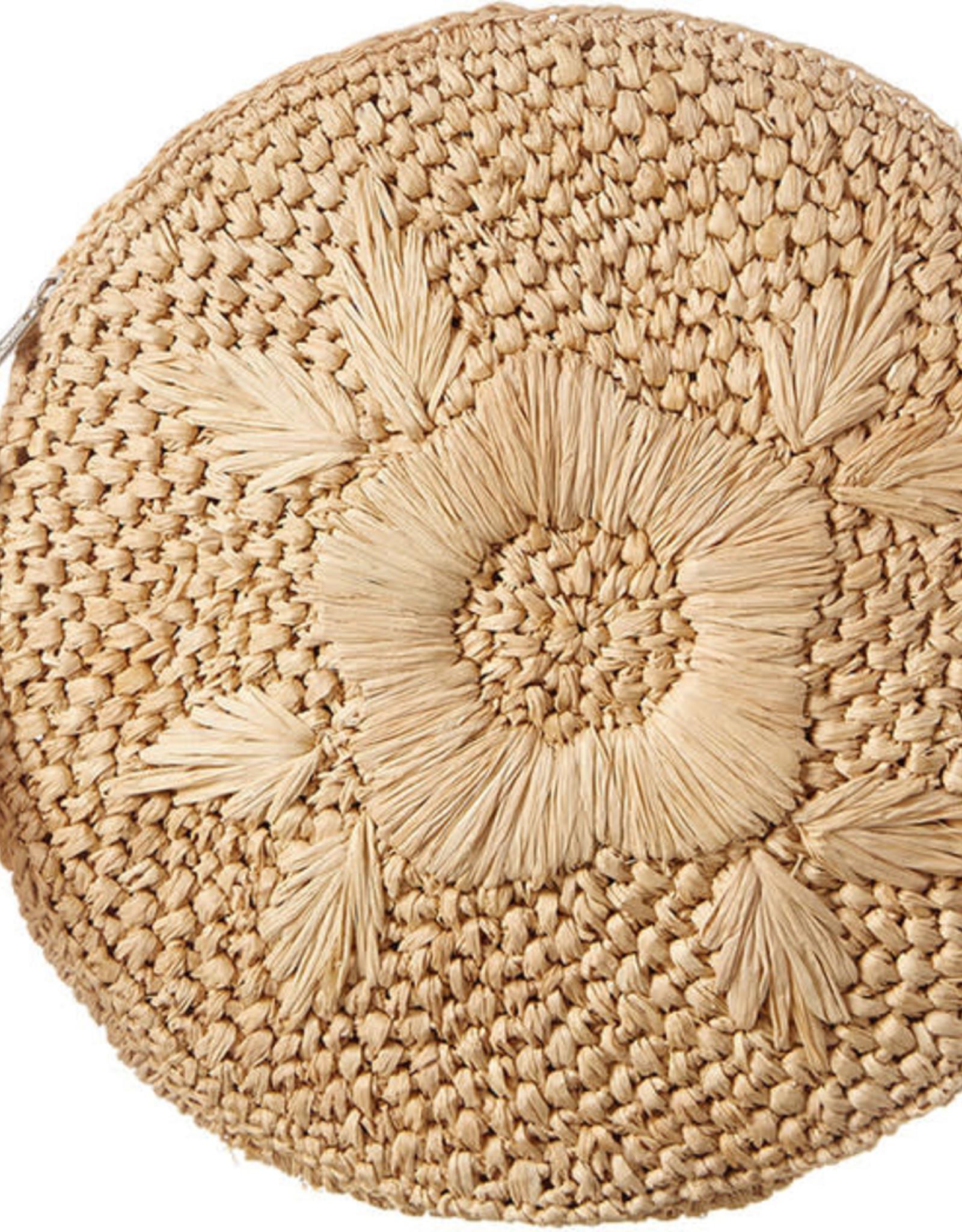 Gifts Luna Circle Clutch in Natural