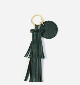 Neely & Chloe Tassel with Key Ring Tag