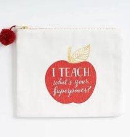 Waste Not Paper Teach Superpower Pouch