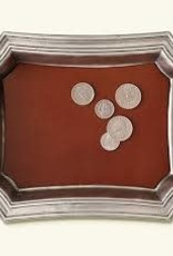 Match Pocket Change Tray with Leather Insert