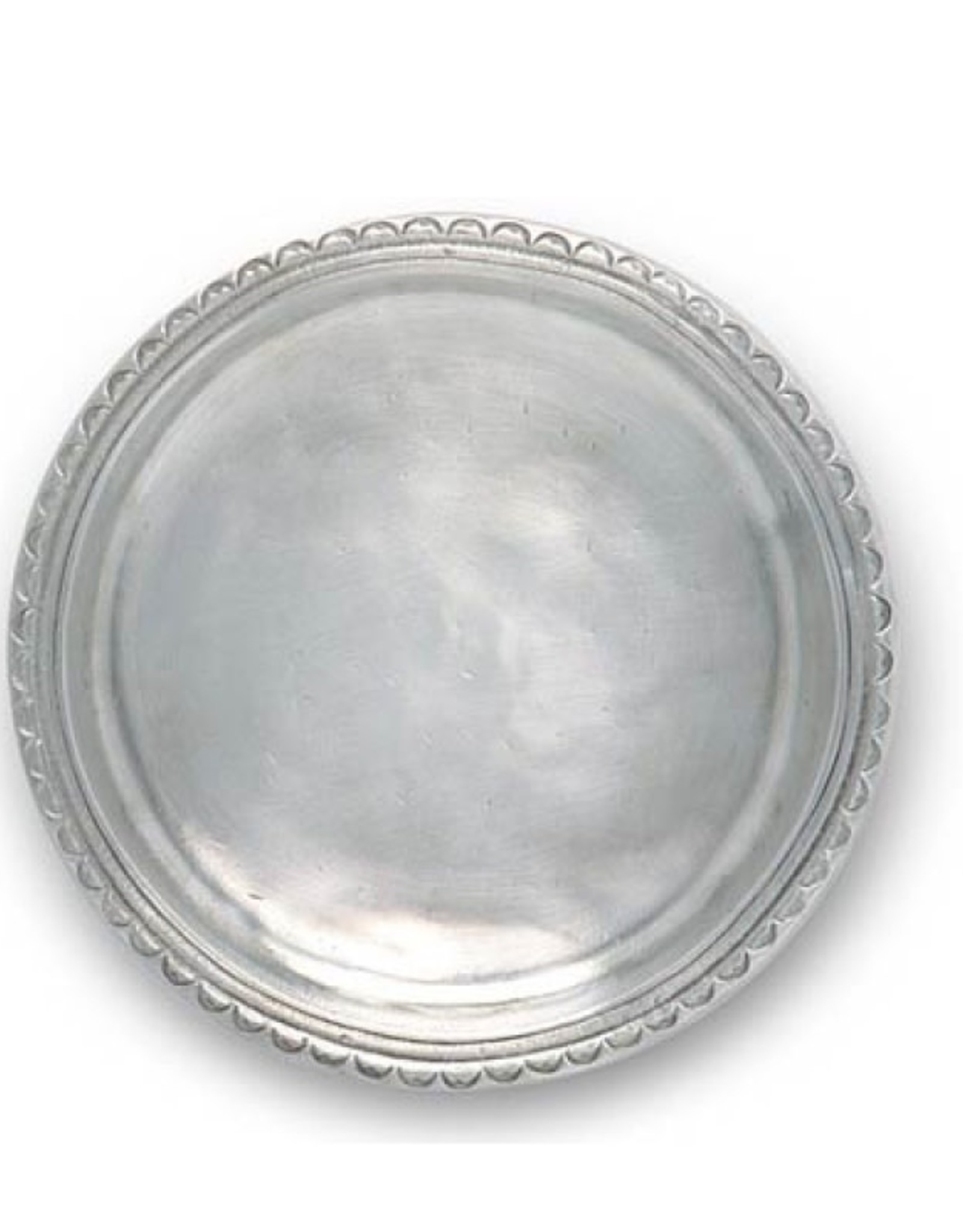 Match Scallop Rim Bottle Coaster