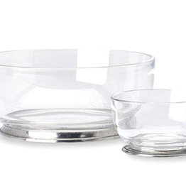 Home Round Crystal Bowl, small