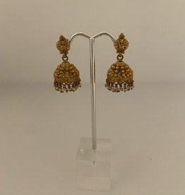Wendy Perry Designs Vermeil Jhumka Earrings