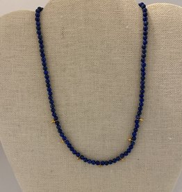 Wendy Perry Designs Finisterre Lapis Necklace