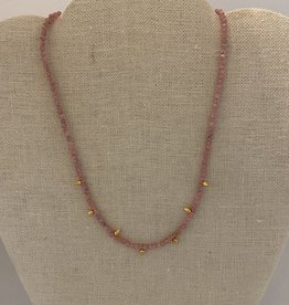 Wendy Perry Designs Finisterre Rhodonite Necklace
