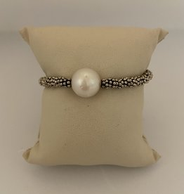 Wendy Perry Designs Maui South Sea Pearl Bracelet with Sterling Daisy Spacers